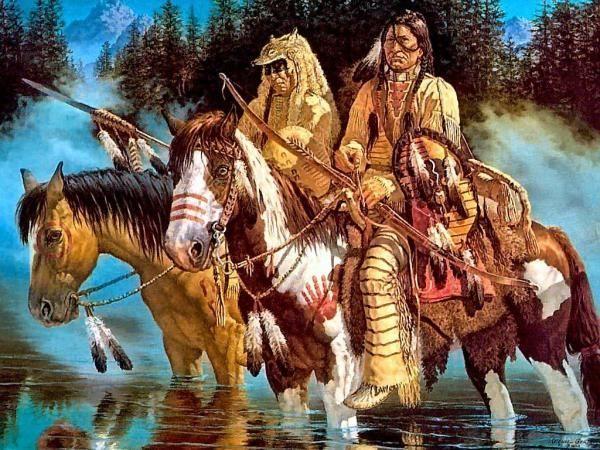 Indiens D Amerique Du Nord